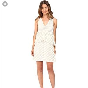 See By Chloe Graphic Lace Sleeveless Dress 8 NWT